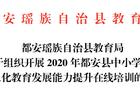 学习时长1.7万小时,都安瑶族自治县首期信息化教育在线培训圆满落幕