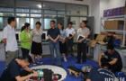 北京电子科技职业学院机器人大赛Robotac备赛师生蓄势待发