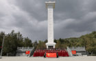陇东学院到华池县南梁革命纪念馆开展红歌演唱主题实践活动