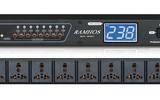 RAMHOS專業8路時序電源RH-80C時序器中控控制萬用時序器通用插座旁通獨立控制