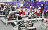 汽车教学设备 汽车教具 新能源汽车教具 特斯拉全车电器展示台 免费师资培训 厂家直销 提供课程及教材