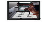 智慧教學書法臨摹臺 21.5寸嵌入式桌面觸屏一體機源頭廠家