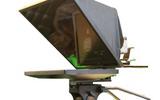 嘉视24寸单屏演播室提词器 电视台摄像机一体式提词器