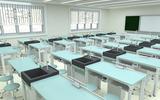 天智廠家直銷56位中學生物實驗室桌椅 理化生實驗室設備