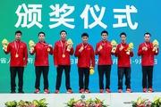 南体体操队勇夺第十四届全运会体操男团金牌