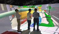 沉浸式cave虚拟现实实验室  北京知感科技