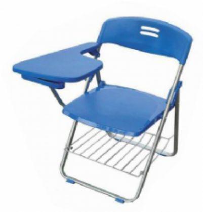 折叠培训椅 学生学习椅 折叠椅 带写字板培训椅