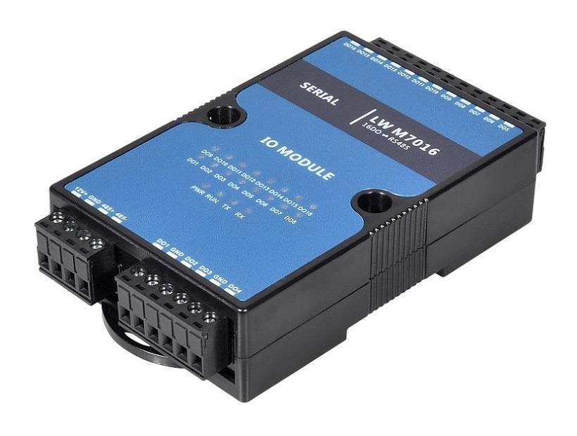 16路DO采集模塊 遠程IO控制模塊 開關量信號采集 質保六年