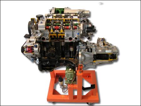 发动机 变速器解剖模型