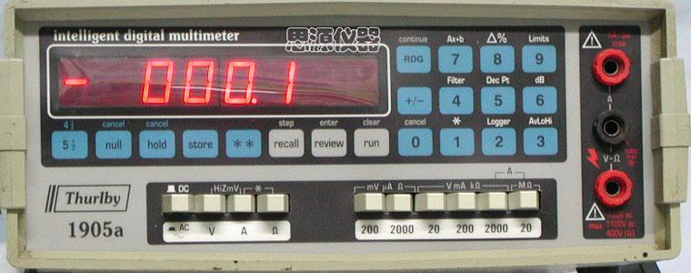 高精度数字万用表 1905A