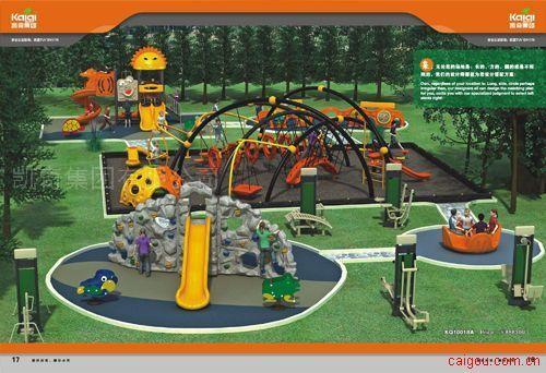 凱奇-游樂設施-戶外游樂設施-蜘蛛俠攀爬架--滑梯