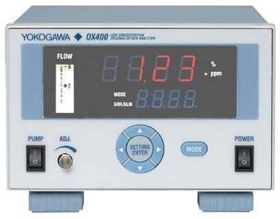 橫河电机YOKOGAWA台式微量氧氧气分析仪OX400