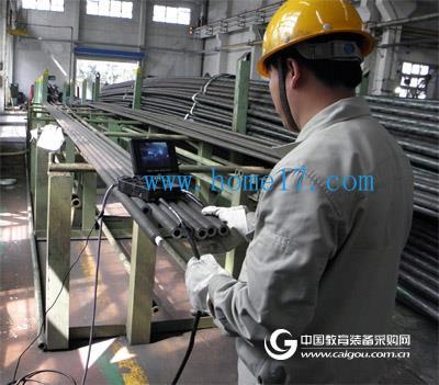 蔡康工业内窥镜广泛应用于宝钢股份精密钢管厂