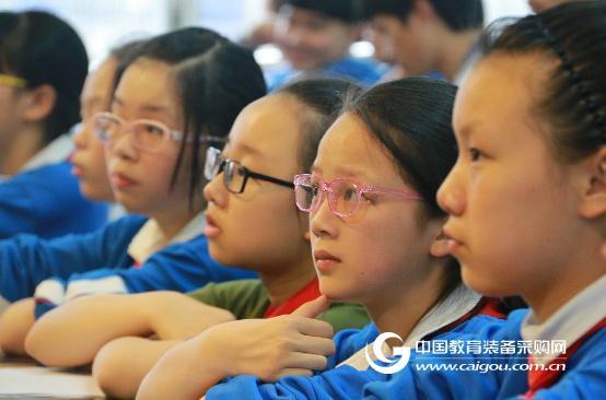 让学生远离近视 卡西欧打造护眼课堂