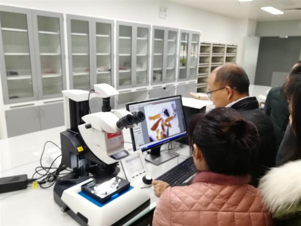 河南中烟黄金叶研发中心显微镜安装调试成功